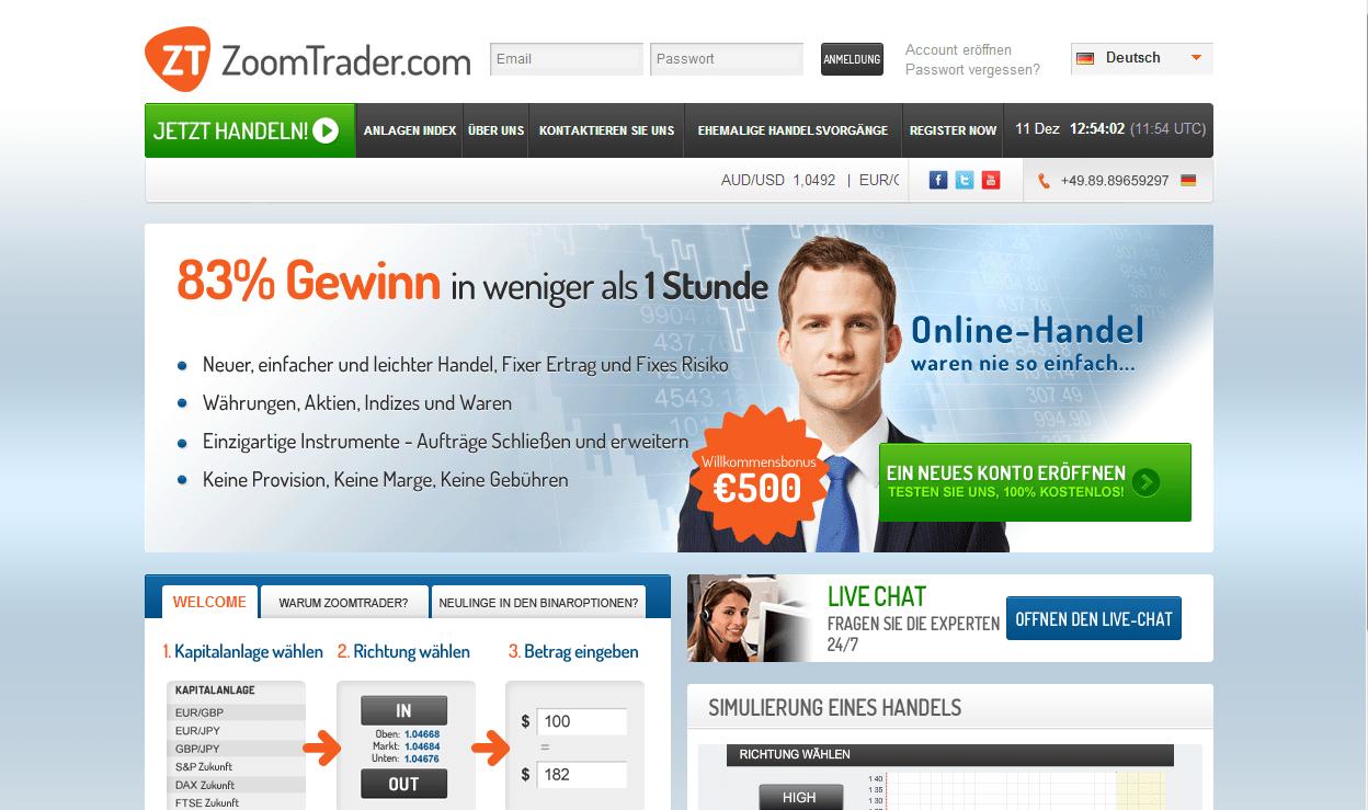 Binare optionen deutsche anbieter