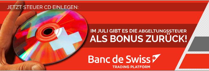 BDSwiss schenkt im Juli erfolgreichen Tradern die Abgeltungssteuer als Bonus zurück