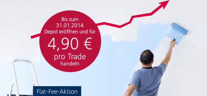 Targobank mit neuer 4,90€ Flat Fee Depot Aktion bis 31.01.2014