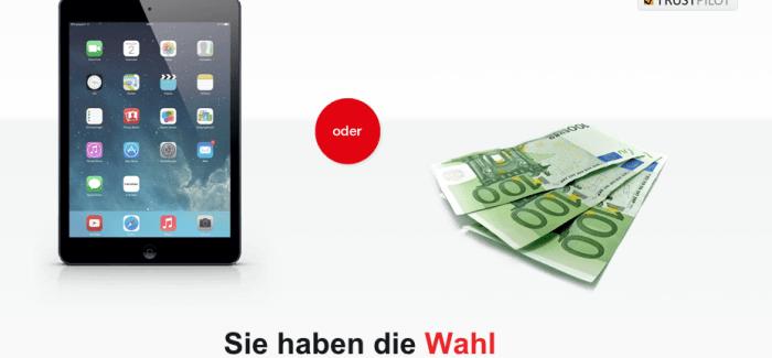 SBroker – IPad Air oder 300€ Orderguthaben Aktion für Depot-Neukunden