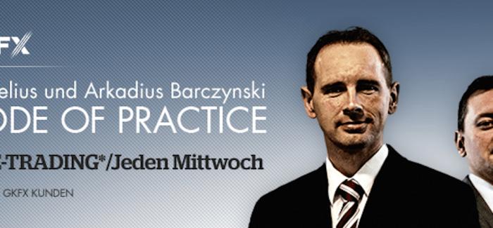 Lifetrading mit Arkadius und Kornelius Barczynski jeden Mittwoch – So traden zwei Brüder life bei GKFX