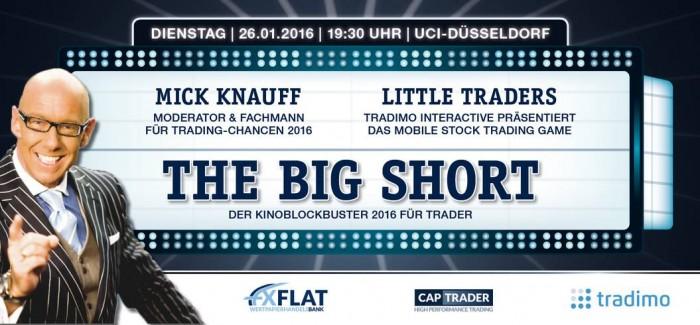 The big Short – FXFlat Kinoevent 26.01.2016 in Düsseldorf