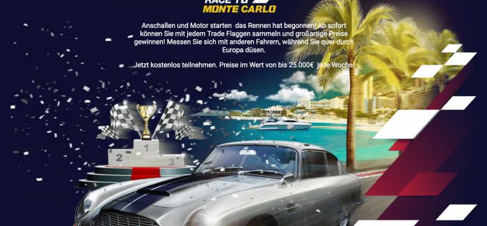 BDSWISS – Race to Monte Carlo – 25000€ Trading Wettbewerb mit binären Optionen